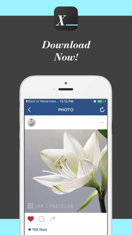 Watermark X: Copyright Photo-s screenshot-4