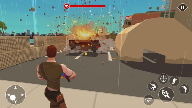 Modern Cover Fire Shooting 3D screenshot-3
