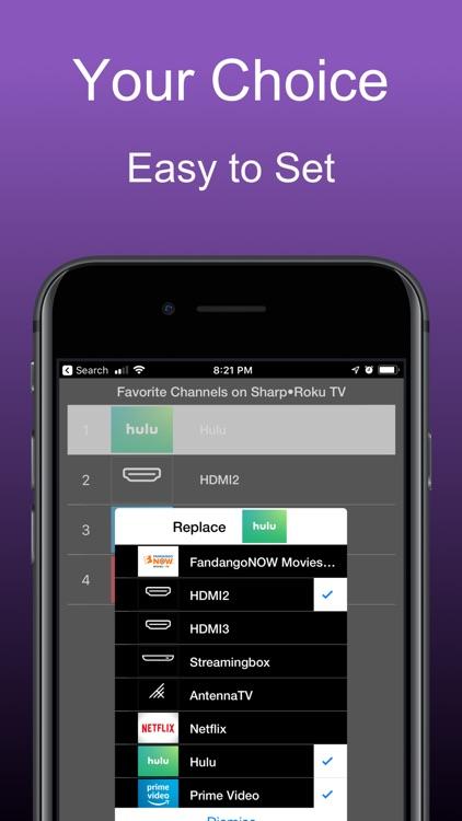 Remote for Roku Tvs: iRoku Pro screenshot-6