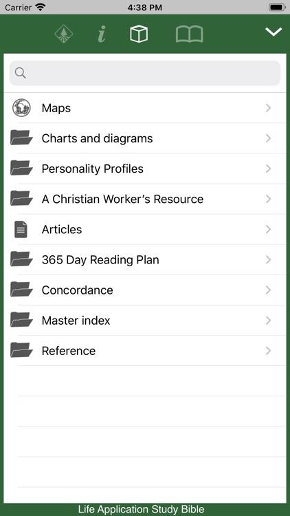 Life Application Study Bible screenshot-3