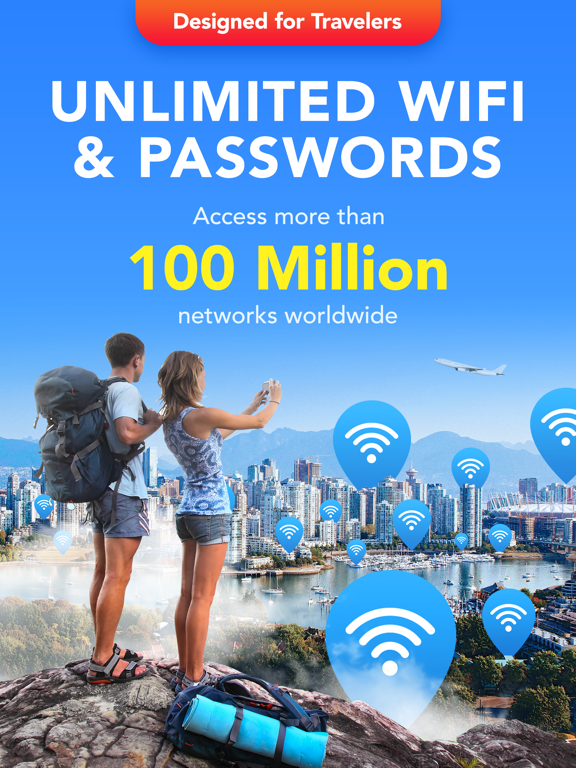 WiFi Map Pro - Passwords for free Wi-Fi. Good alternative for roaming screenshot