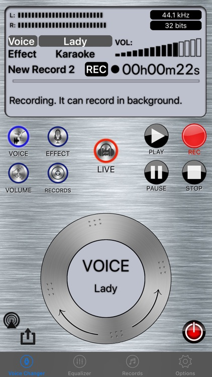 Live Voice Changer - Prankcall screenshot-0