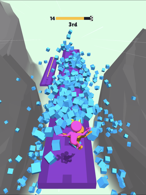 Fall Race 3D screenshot 9