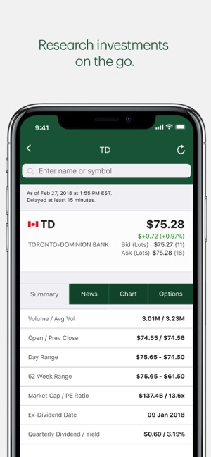 TD Canada on the App Store