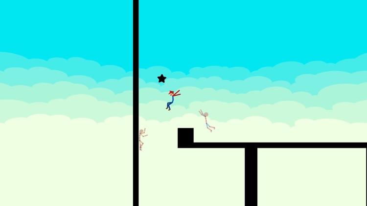 Stickman Parkour - Ninja Race screenshot-4