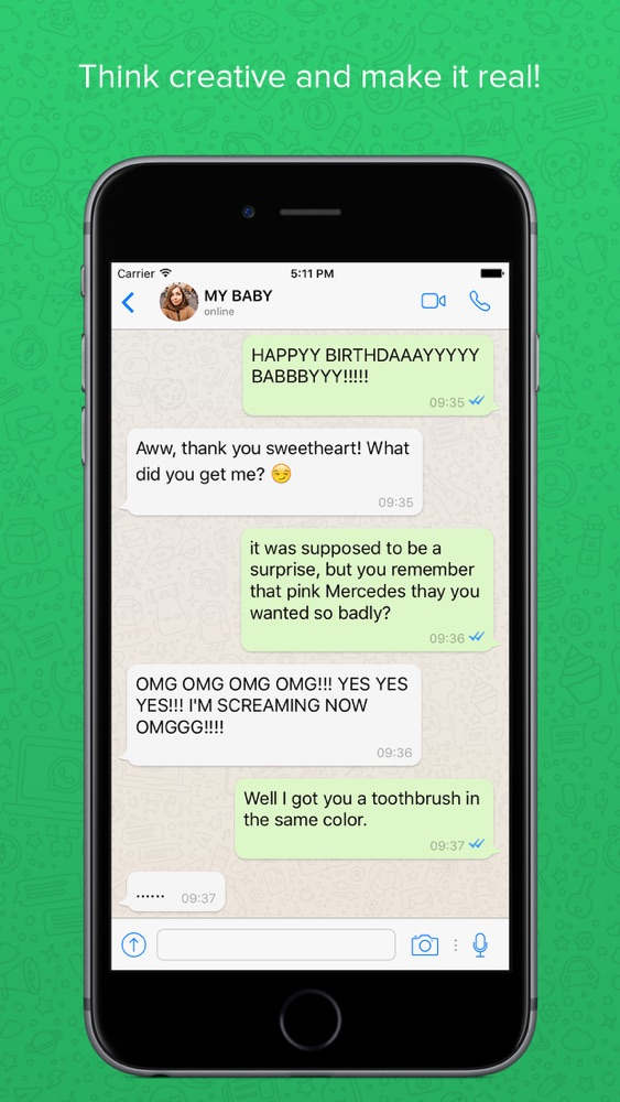 Fake Chat for WhatsApp App for iPhone - Free Download Fake