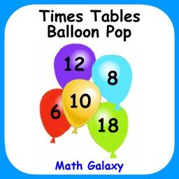 Times Tables Balloon Pop