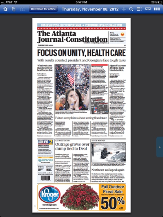 The AJC ePaper screenshot-1