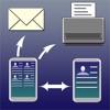複数の連絡先主催者 - iPhoneアプリ