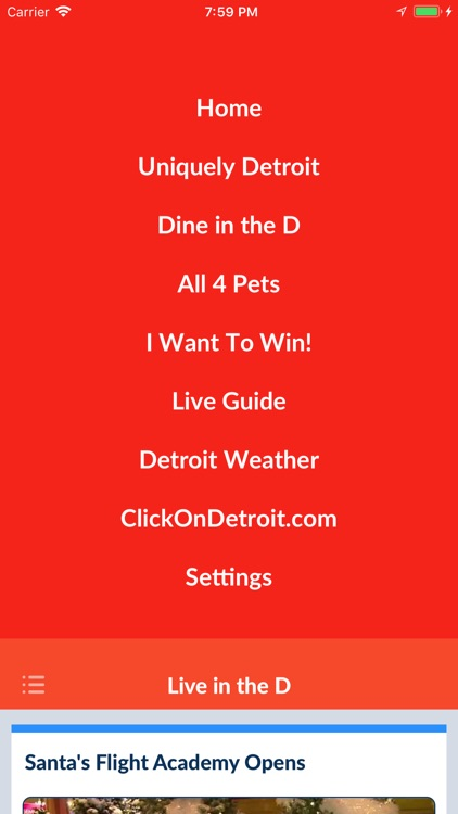 Live in the D