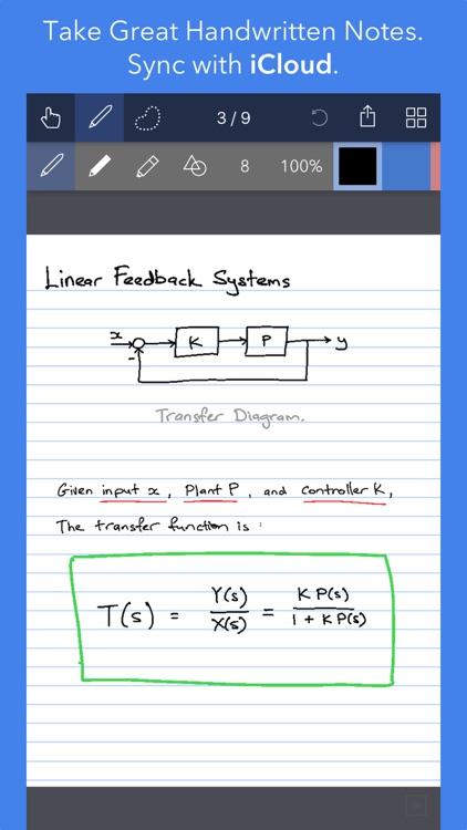 Noteflow Digital Notebook screenshot-3