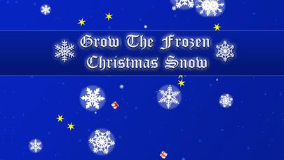 Grow the frozen Christmas snow screenshot one