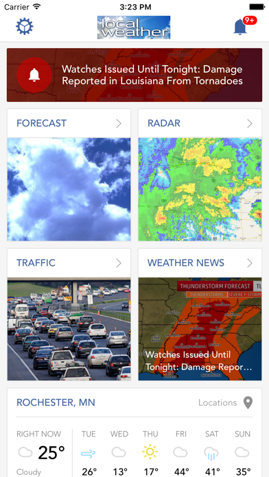Local Weather Radar & Forecastのおすすめ画像1