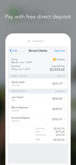 QuickBooks Payroll on the App Store