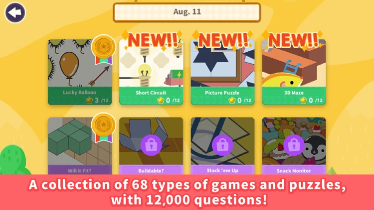 Think!Think! : Puzzle for kids screenshot-0