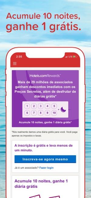 Hoteis.com - Reservas de hotel Screenshot
