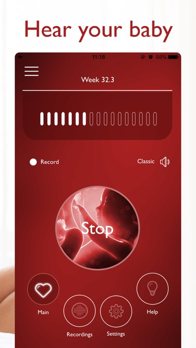 Screenshot for My Baby's Beat in Israel App Store