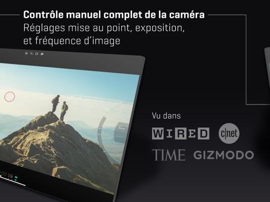 FiLMiC Pro-Caméra vidéo 4k HD