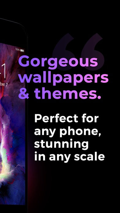 Wallpapers & Themes for Me app image
