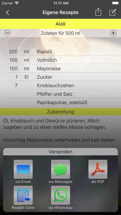Eigene Rezepte screenshot-4