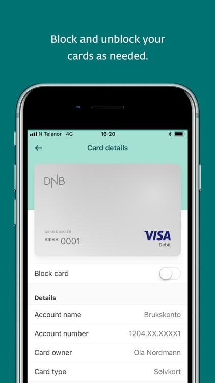 DNB Mobile Bank screenshot-4