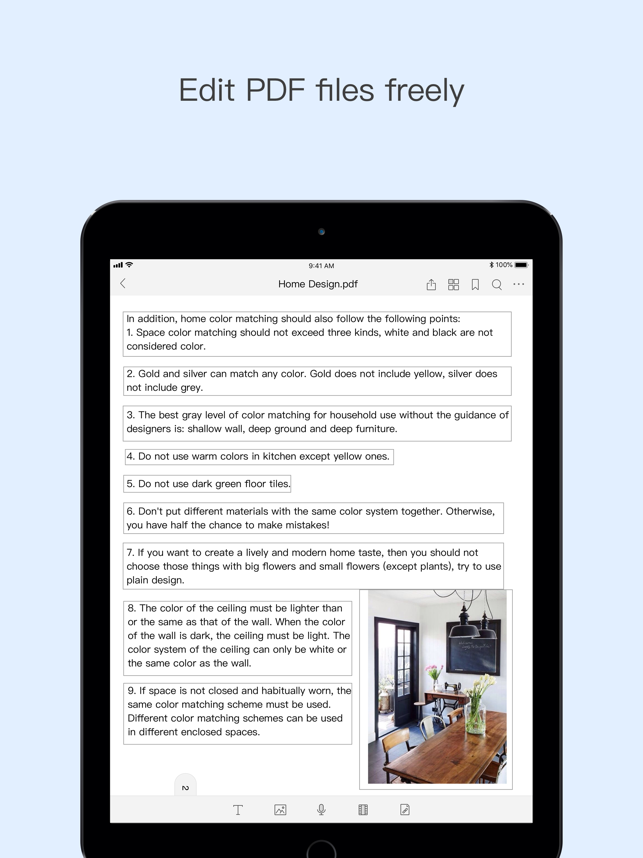 ‎Foxit PDF Reader Mobile Screenshot