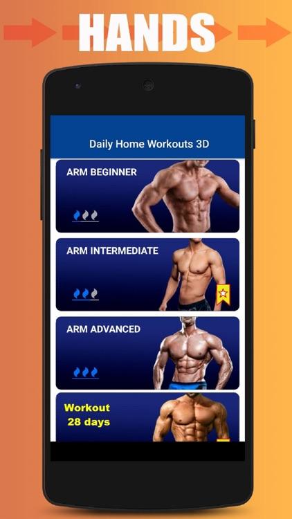 Home Workout No Equipment screenshot-3
