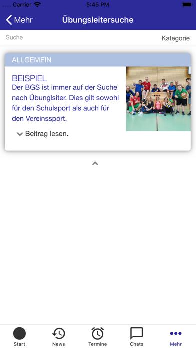 Bay. Gehörlosen-SportverbandScreenshot von 7