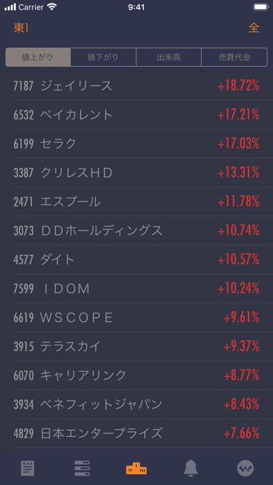 StockWeather - リアルタイム株価 ScreenShot5