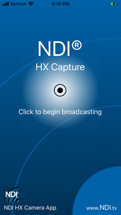 NDI HX Capture Screenshot
