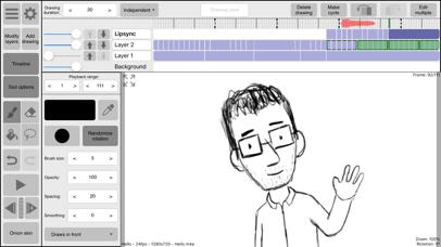 RoughAnimator - animation app Screenshots