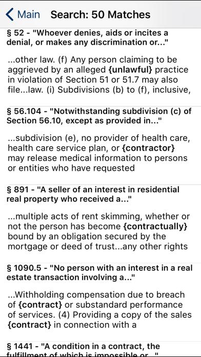 CA Civil Code 2020 screenshot two