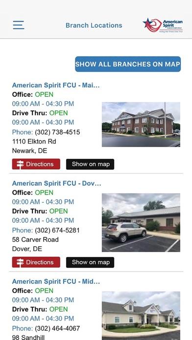 American Spirit Federal CU Screenshot