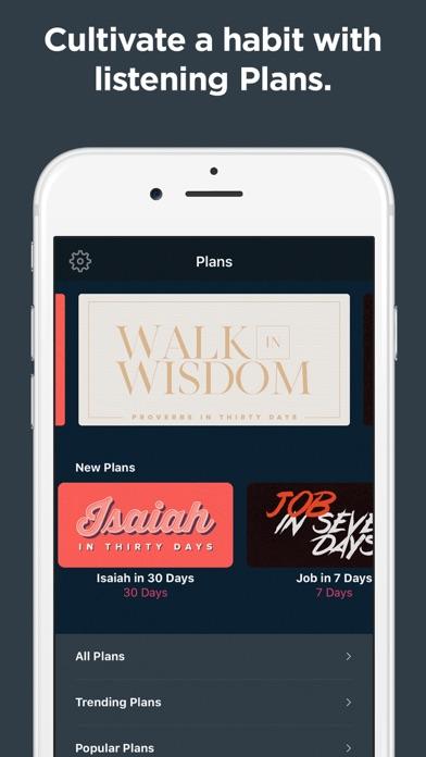 Dwell: Audio Bible Screenshot