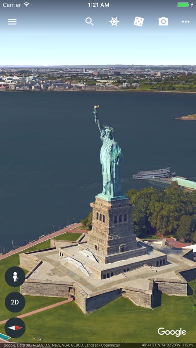 Screenshot #1 pour Google Earth