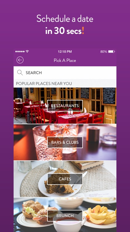 LunchClick - Dating App screenshot-3