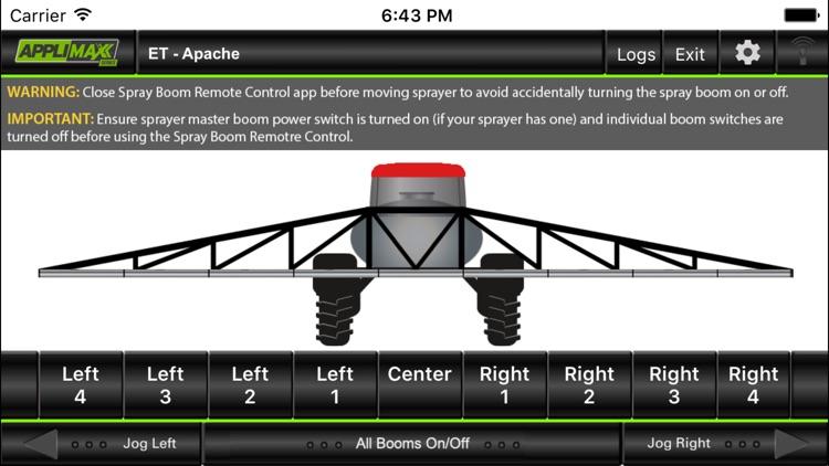 AppliMax V2 Spray Boom Remote