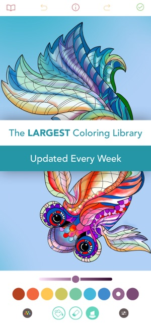 Pigment - Adult Coloring Book on the App Store