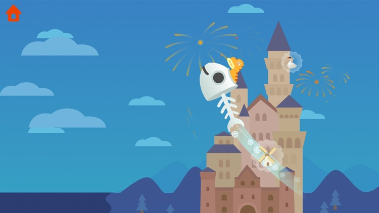 Dinosaur Plane - Game for kids screenshot-3