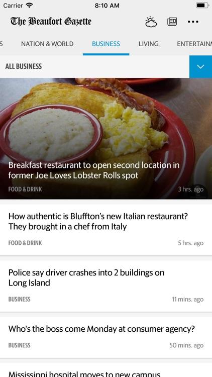 The Beaufort Gazette News
