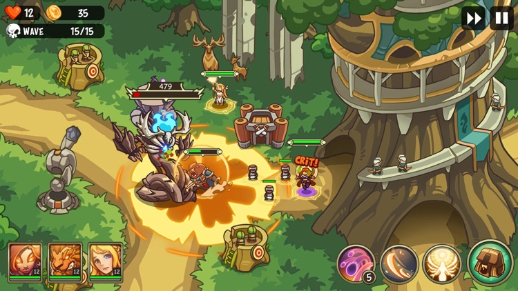 Empire Warriors: Tower Defense screenshot-0