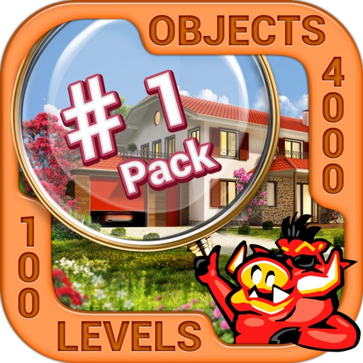 Pack 1 - 10 in 1 Hidden Object