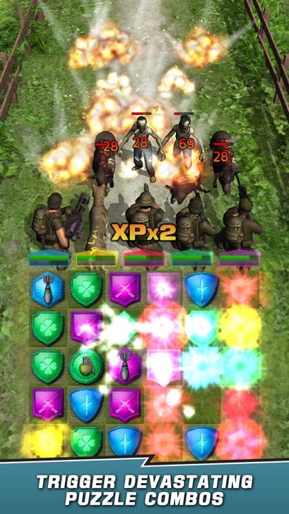 VDV Match 3 RPG: Zombies! screenshot-7