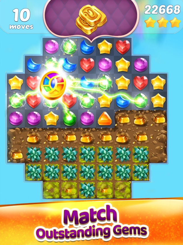 Genies & Gems: Puzzle & Quests on the App Store