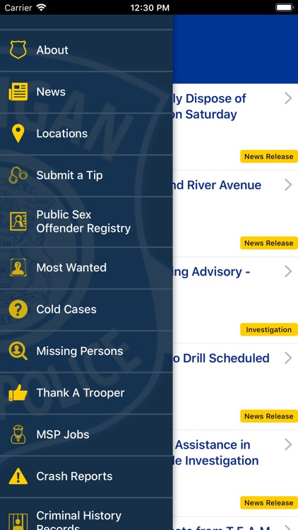 Michigan State Police screenshot-2
