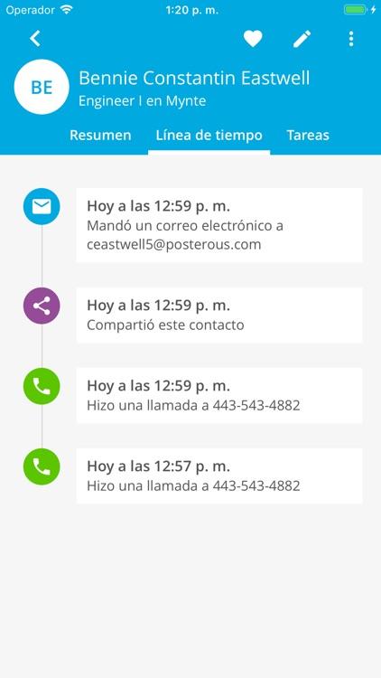 Contactos Digitales screenshot-3