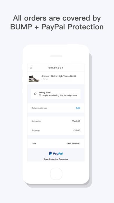 BUMP - Buy & Sell Streetwear Screenshot