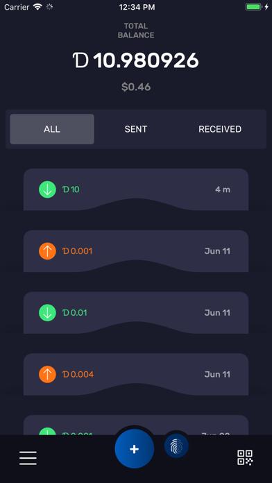 DigiByte screenshot four