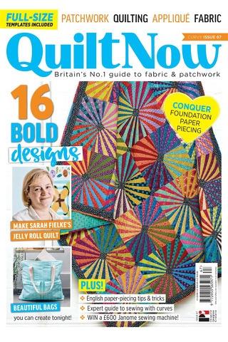 Quilt Now Magazine - náhled
