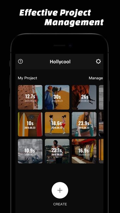 Hollycool - Pro Video Editing screenshot-9